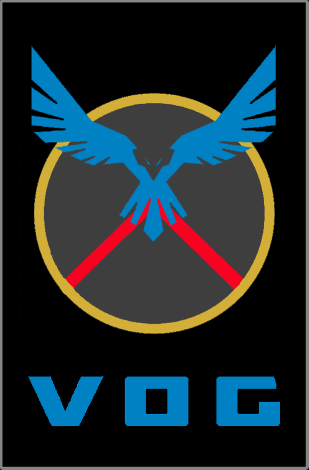 Blue Eagle Shield Patch