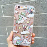 Case unicornio escarchado