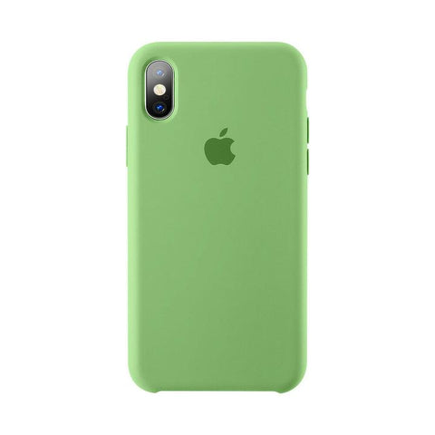 Silicon case green