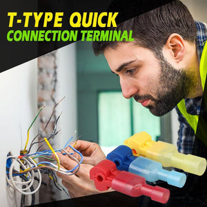 T-Type Quick Connection Terminal