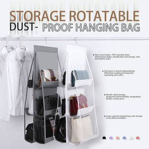 (50% OFF)BAG 3 LAYERS FOLDING SHELF BAG PURSE