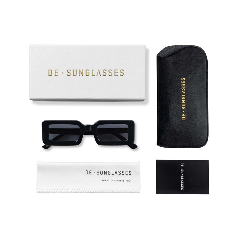 Delta black  De-sunglasses case