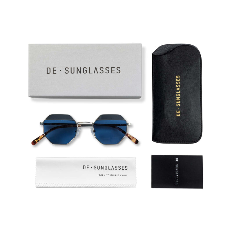 Las vegas Blue  De-sunglasses case