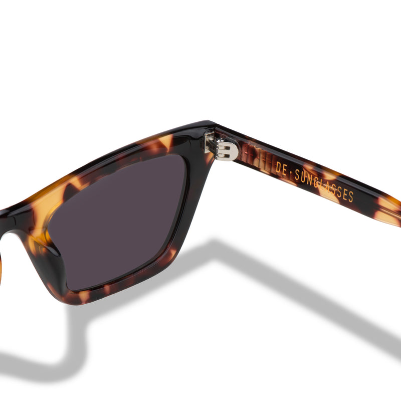 Beverly Tortoise De-sunglasses Logo