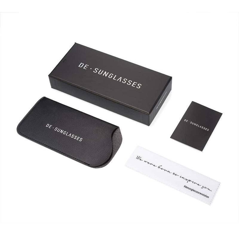 NEMESIS BLACK CASE · DE-SUNGLASSES