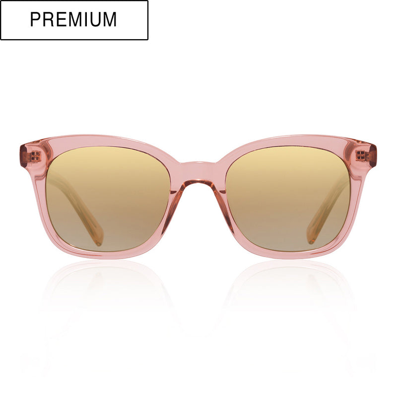 Milano rho gold de-sunglasses