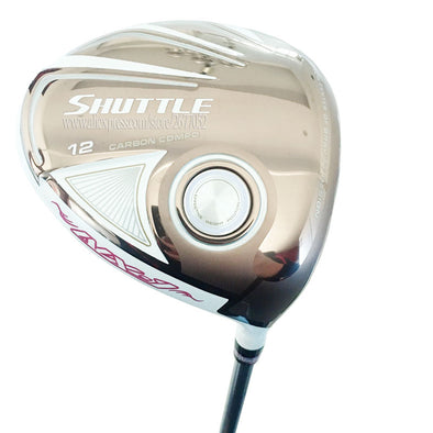 Cooyute New Women Golf Clubs Maruman SHUTTLE Golf Driver 12 loft Clubs Driver Graphite shaft L Flex Golf shaft Free shipping