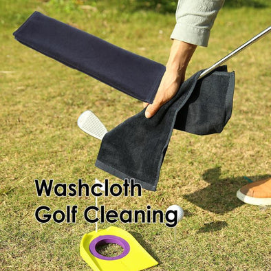 Outdoor Golf Cleaning Towel Comfortable Water Absorption Sport Quick Dry Golf Towel Washcloth Swimming Towels Dropshipping