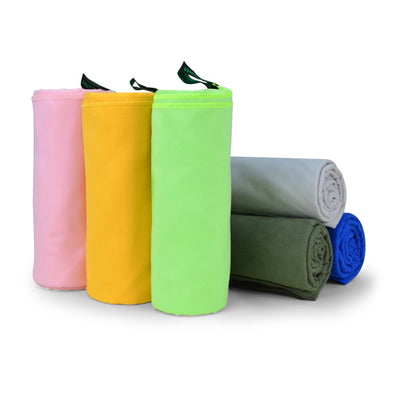 155*75cm Quick Dry Swimming Yoga Towel Outdoor Ultra Compact Microfiber Outdoor Camp Sports Golf Pool Beach Blanket Towel