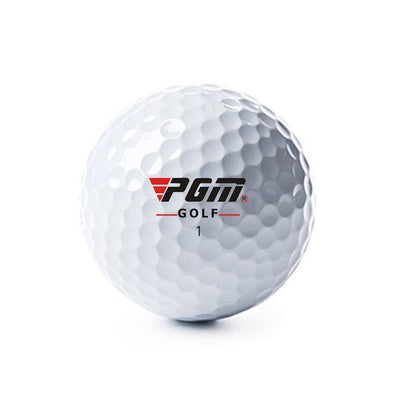 Authentic PGM 2019 golf 80-90 golf ball sports practice three-layer ball control strong quality with high-energy elastic core