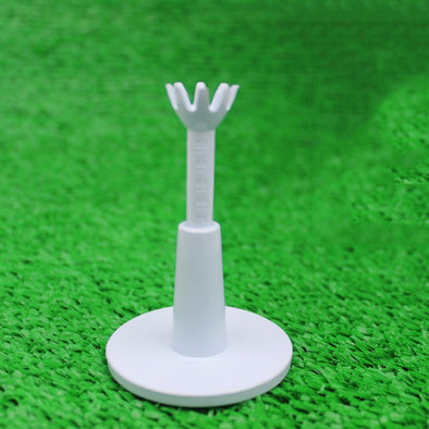 2pcs/pack Adjustable Range Tees White Plastic Golf Tees Golf Practice Tees Golf Accessories