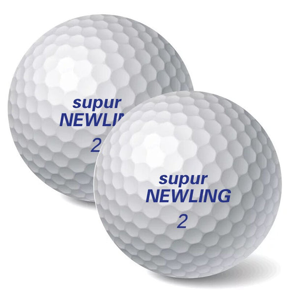 Free Shipping New Double layer Golf Ball Golf Game Ball Super Long Distance Golf Ball 10pcs/lot