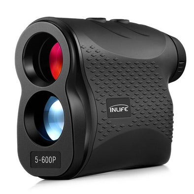 5 - 600P Laser Rangefinder IP54 Waterproof 600m Distance Meter 6X Magnification 905nm Laser Type Golf Laser Range Finder