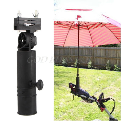 Durable Golf Club Umbrella Holder Stand For Bike Buggy Cart Baby Pram Wheelchair