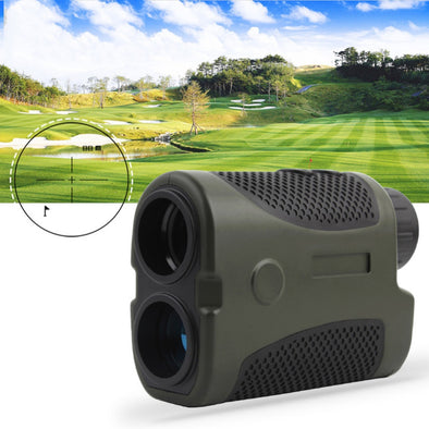 400m Laser Rangefinder 6X Handheld Range Finder with Angel Scan for Hunting Golf Range Finder Measure Distance Speed Meter