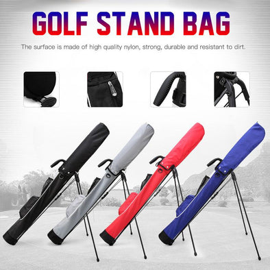 2019 New Portable Golf Bag Golf Support Bag Super Light and Large Capacity Gun Bag Golf Bag Large capacity Waterproof