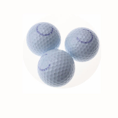 OEM Print  Logo   two layer Golf Match Ball Two Piece Tournament Golf Ball  USGA standard size