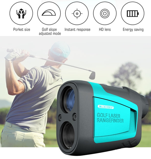MiLESEEY PF210 Measurement Range 600m Telescope Laser Rangefinder Measure Distance Meter 6X Monocular for Hunting Golf