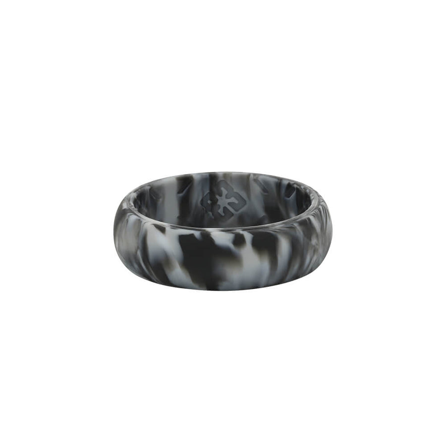Ladies Black Camo Nano less moisture - E3 Active Silicone Wedding Ring