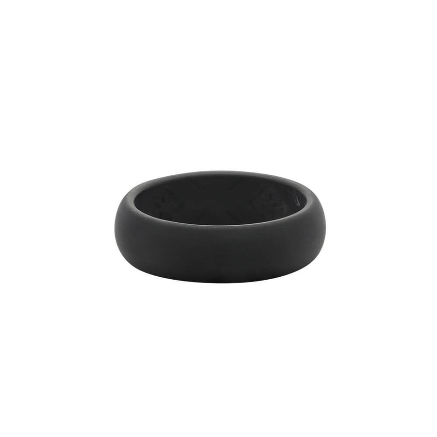 Ladies Black Nano less moisture - E3 Active Silicone Wedding Ring
