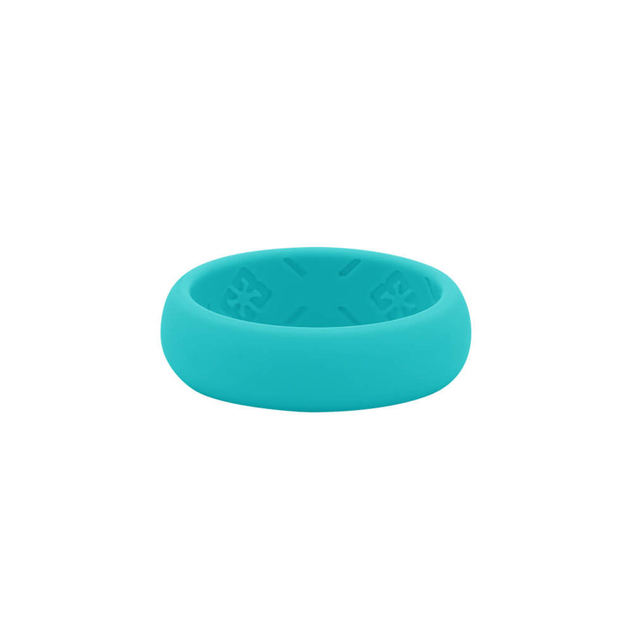 Ladies Turquoise Nano less moisture - E3 Active Silicone Wedding Ring
