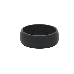Men's Black Nano less moisture - E3 Active Silicone Wedding Ring