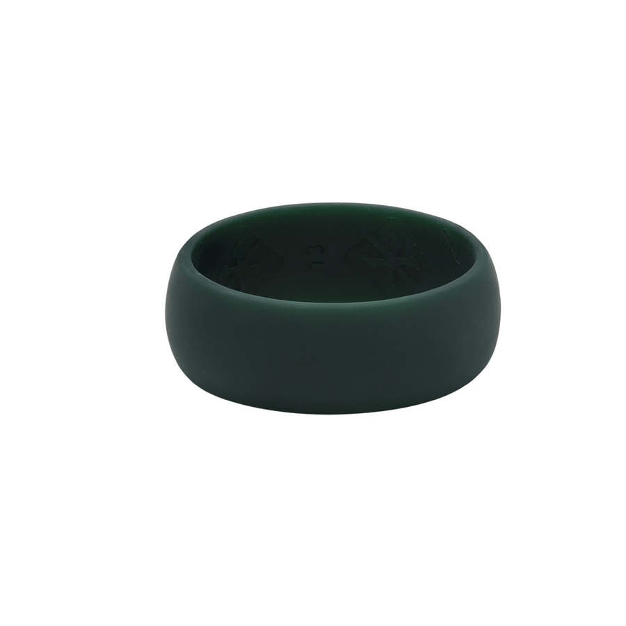 Men's Springbok Green Nano less moisture - E3 Active Silicone Wedding Ring