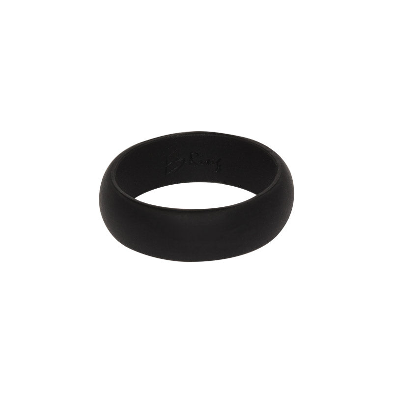 Black Women's Plain - E3 Active Silicone Wedding Ring