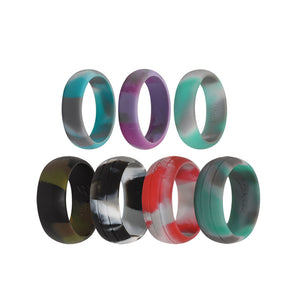 Selection of Camo Colours - E3 Active Silicone Wedding Ring