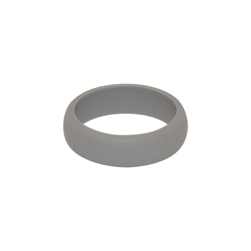 Grey Women's Plain - E3 Active Silicone Wedding Ring