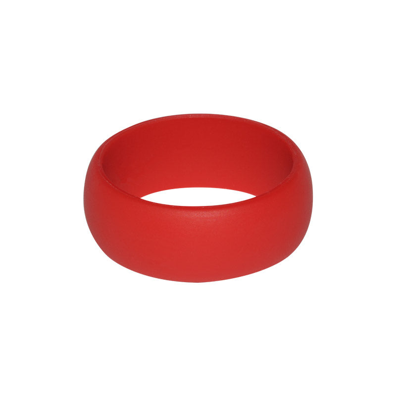 Red Men's Plain - E3 Active Silicone Wedding Ring