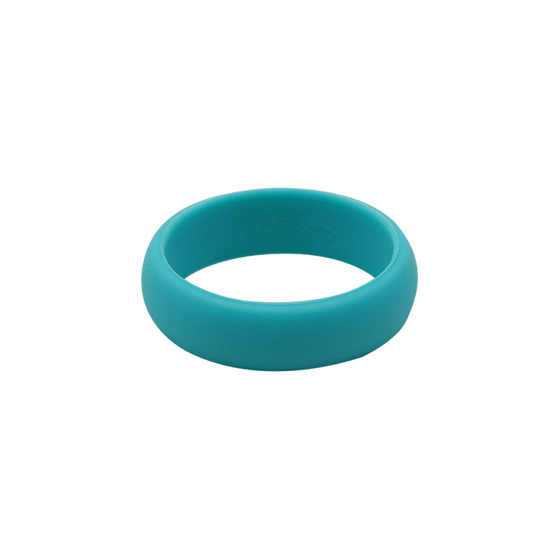 Turquoise Women's Plain - E3 Active Silicone Wedding Ring