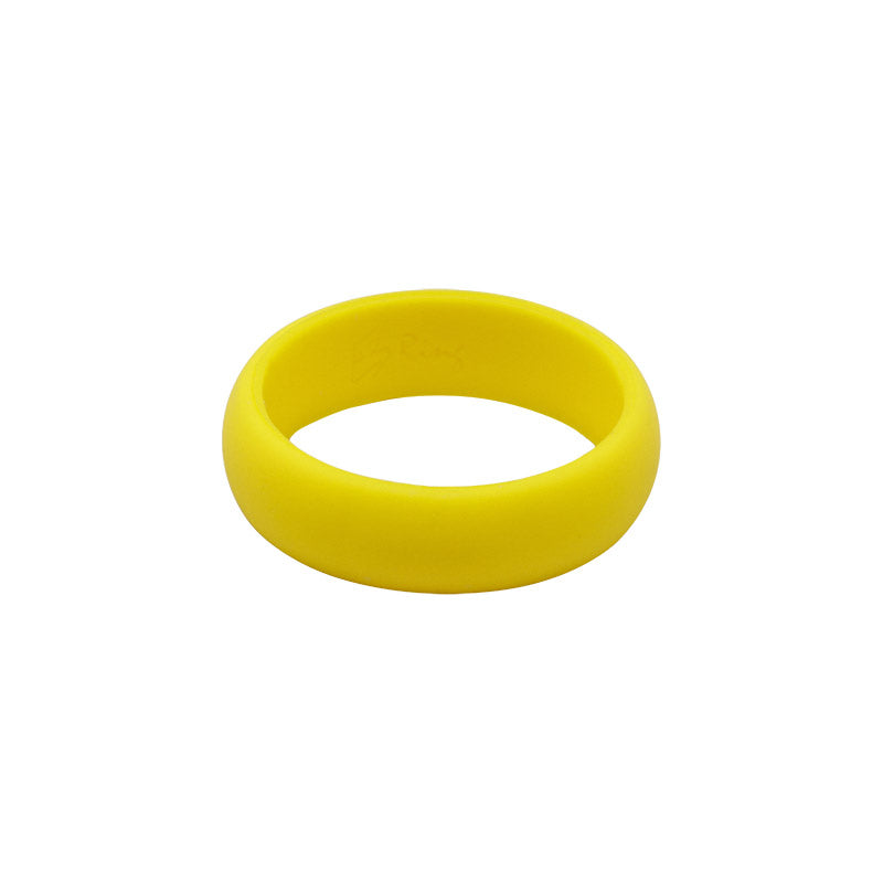 Yellow Women's Plain - E3 Active Silicone Wedding Ring