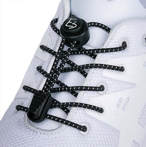 Black Elastic Laces