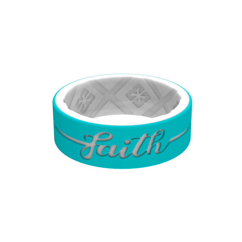 E3 Eternal Faith Silicone Rings