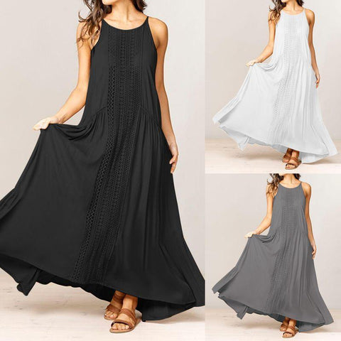Long sundress - plus size
