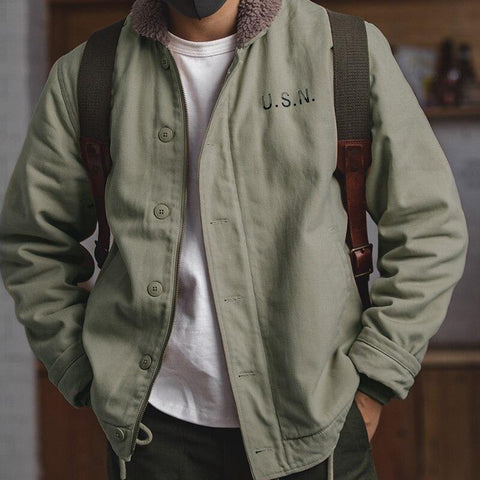 men's sherpa jacket