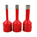 3pcs/set Dry Diamond Drill Bits for Porcelain Tile Wall Tile Stoneware Granite M14 thread - DIATOOL
