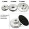"Aluminum base for diamond polishing pads Arbor 5/8-11 SHDIATOOL 3""/4""/5"" - DIATOOL"