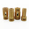 4pcs/set Dry Golden Diamond Drill Bits for Porcelain Tile Granite Marble M14 Thread - DIATOOL