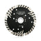 Diamond Turbo Blade with Slant Protection Teeth Cutting Granite Marble concrete Hard Stone SHDIATOOL - DIATOOL