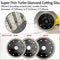"5pcs Ultra Thin Diamond Turbo Blades Cutting Ceramic Tile Granite Diameter 4"" 4.5"" 5"" - DIATOOL"
