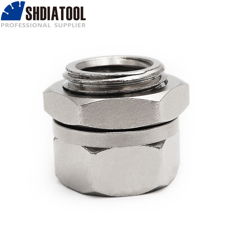SHDIATOOL Adapter for Angle Machine, M14 or 5/8-11 Thread Connector Converter Adapter Screw Connecting Tool Accessories