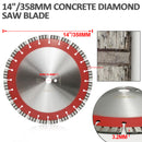 14 in. 24-Teeth Turbo Segmented Professional Laser Welded Diamond Blade for Reinforced concrete - DIATOOL