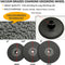 SHDIATOOL Vacuum Brazed Diamond Flat Grinding Wheel M14 Thread - DIATOOL
