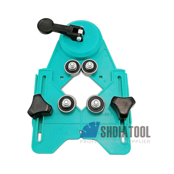SHDIATOOL Drill Bit Hole Saw Guide Jig Fixture Adjustable Diamond Hole (2 Sizes) - DIATOOL