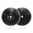 2pcs Continuous Rim Diamond Blade cutting Porcelain Tile Ceramic marble SHDIATOOL - DIATOOL