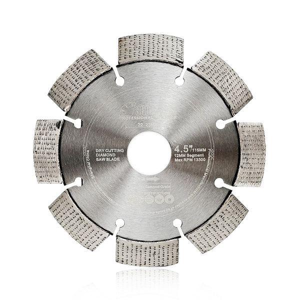 Arrayed Diamond Saw Blade Dry Cutting Hard material Reinforced concrete - DIATOOL