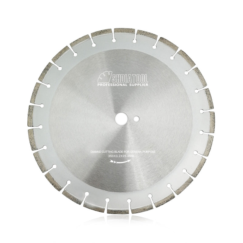 14 inch Segmented Rim Black Diamond Blade General Purpose Concrete/Brick - DIATOOL