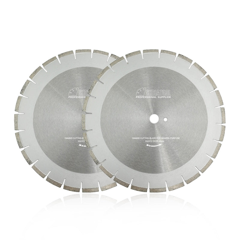 14 in. Dry Cutting Concrete Professional Laser Welded Segmented Diamond Blade - DIATOOL
